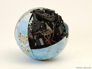 Zenta's MorpHex Spherical Robot