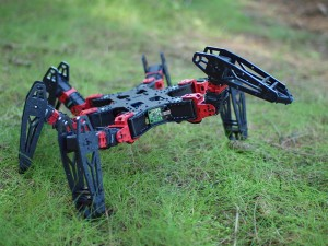 phantomX hexapod running phoenix code