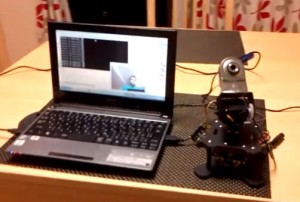 Desktop RoboTurret Face Tracking