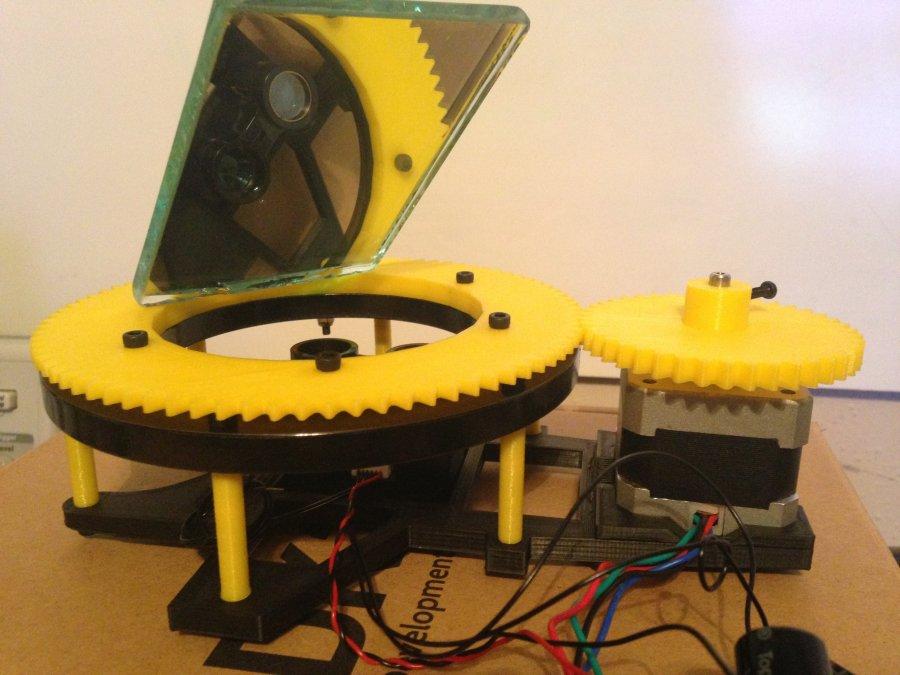 LIDAR-lite mirror